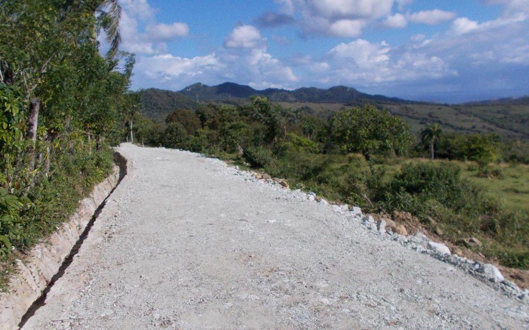 Roads inside Dream View Estate